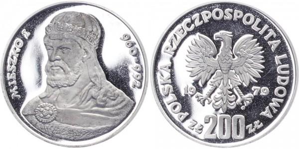 Polen 200 Zlotych 1979 - Mieszeko I.