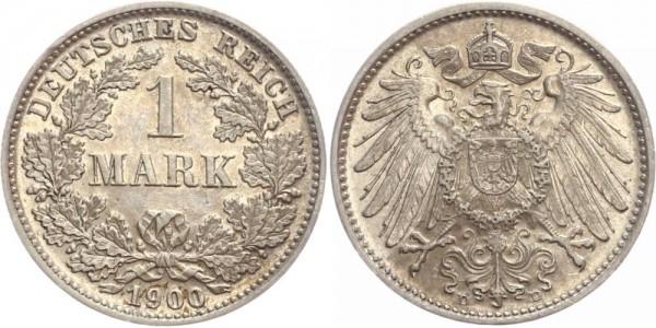 Deutsches Reich 1 Mark 1900 D Großer Adler
