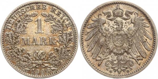 Deutsches Reich 1 Mark 1903 G Großer Adler
