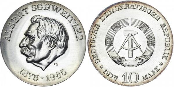DDR 10 Mark 1975 A Schweitzer