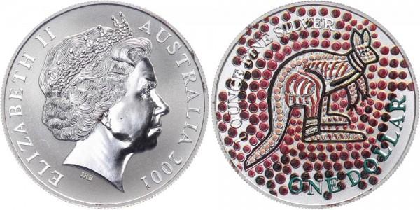 Australien 1 Dollar 2001 - Känguru