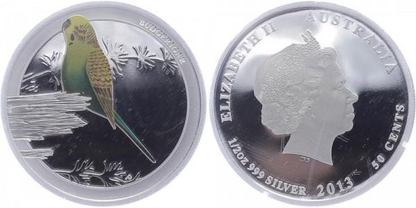 Australien 50 Cents 2013 - Budgericar