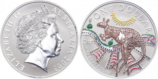 Australien 1 Dollar 2003 - Känguru