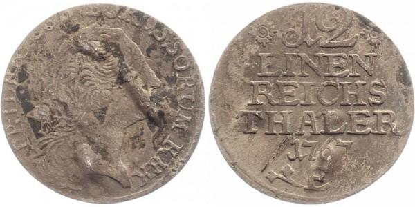 Preussen 1/2 Taler 1767 E Friedr. Wilhelm II.