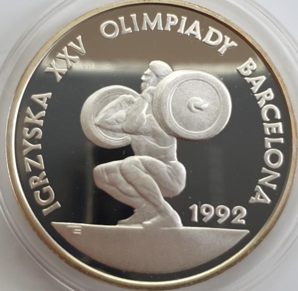 Polen 200.000 Zloty 1991 Olympiade Barcelona 1992 PP