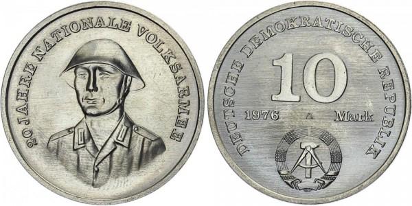 DDR 10 Mark 1976 A Nationale Volksarmee