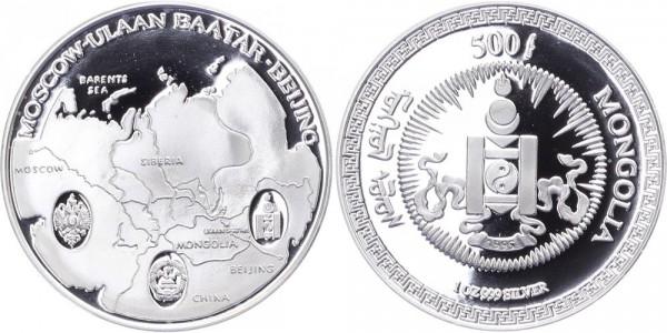 Mongolei 500 Tugrik 1995
