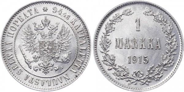 Finnland 1 Markka 1915 - Kursmünze