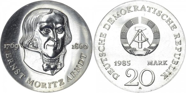 DDR 20 Mark 1985 A Arndt