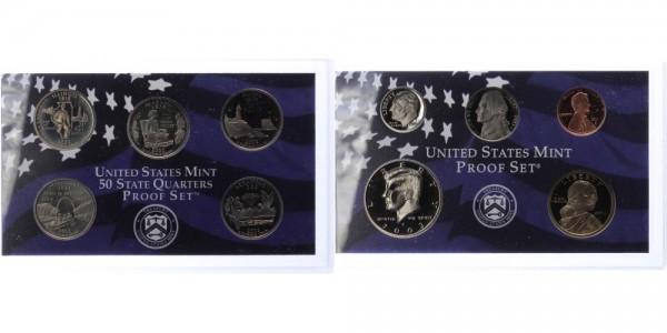 USA 1c-1 Dollar 2003 - Proof Set