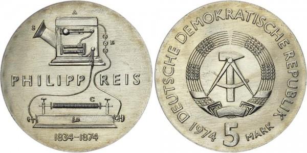DDR 5 Mark 1974 A Reis