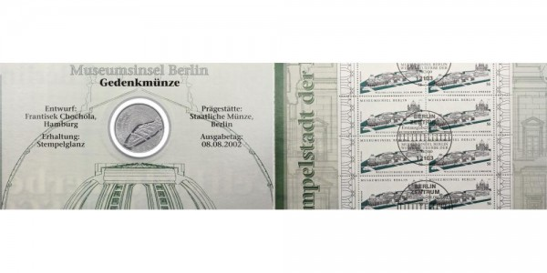 Deutschland 10 Euro 2002 - Museumsinsel Berlin