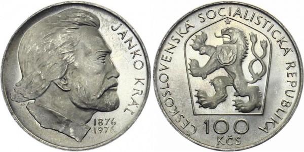 CSSR 100 Kč 1976 - Janko Kral