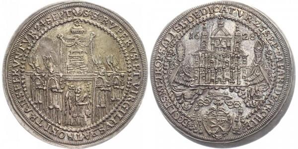 Salzburg ½ Taler 1628 - Paris von Lodron