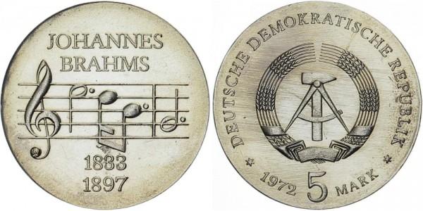 DDR 5 Mark 1972 A Brahms