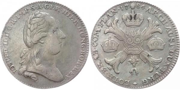 RDR Kronentaler 1784 Brüssel Joseph II.
