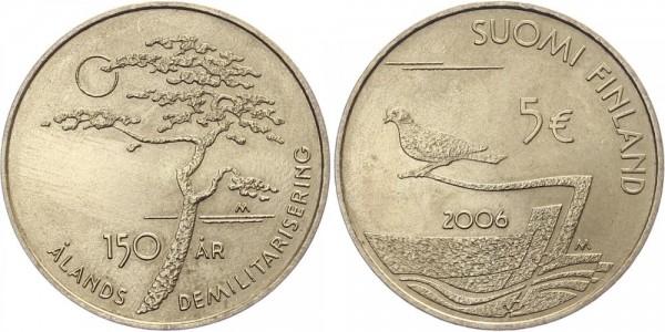 Finnland 5 Euro 2006 - 150 Jahre Entmilitarisierung