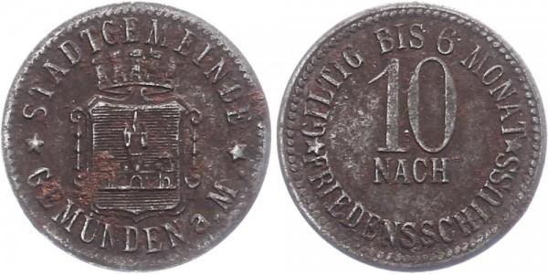 Gemünden 10 Pfennig o.D. - Stadtgemeinde