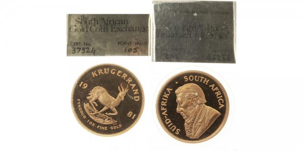 Südafrika Krügerrand 1981 - 1 Oz
