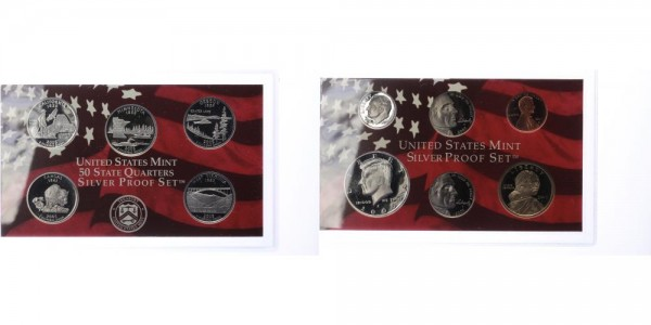 USA 1c-1 Dollar 2005 - Proof Set