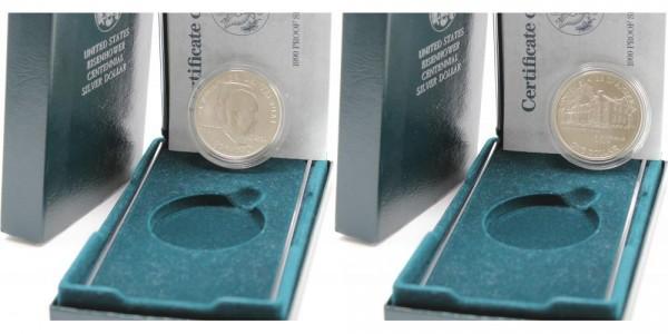 USA 1 Dollar 1990 W 100. Geburtstag von Dwight D. Eisenhower