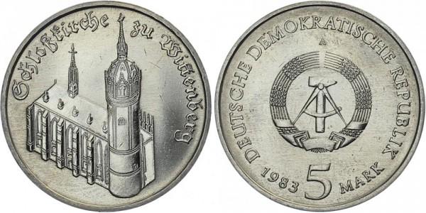 DDR 5 Mark 1983 A Wittenberg