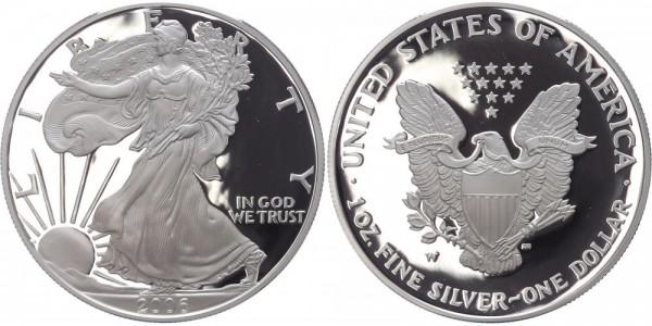 USA 1 Dollar 2006 W Eagle