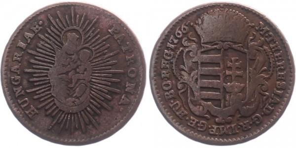 Ungarn 1 Denar 1766 - Maria Theresia
