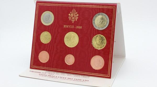 Vatikan 3,88 Euro 2008 - Offizieller Kursmünzensatz