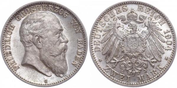 Baden 2 Mark 1904 - Friedrich