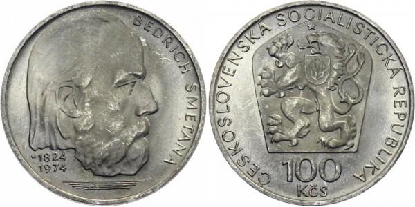 CSSR 100 Kč 1974 - Bedrich Smetana