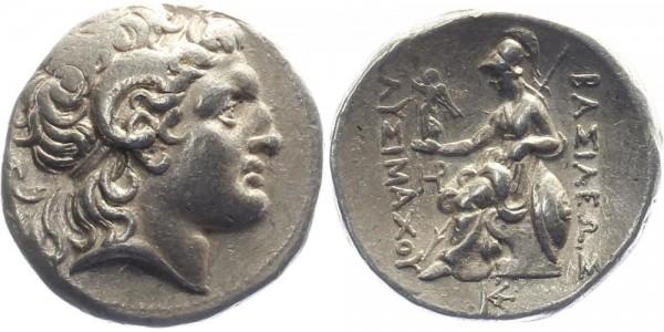 Thrakien Tetradrachme 323-281 v.Chr. - Lysimachos