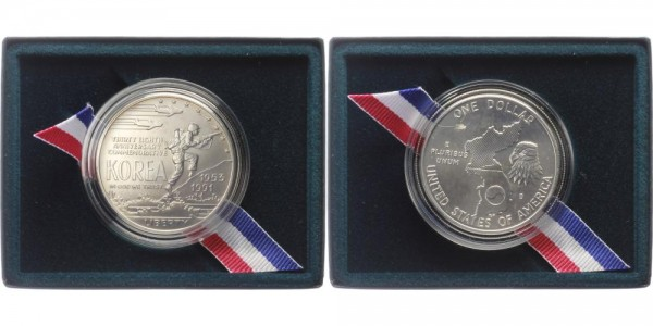 USA 1 Dollar 1991 - Korea