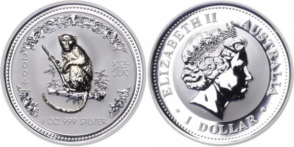 Australien 1 Dollar 2004 - Jahr des Affen