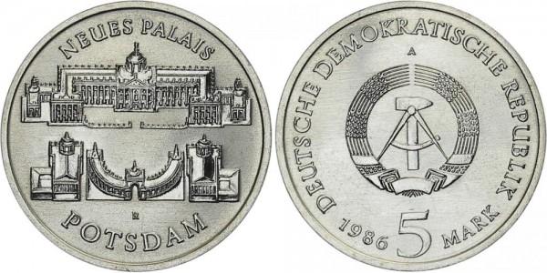 DDR 5 Mark 1986 A Palais Potsdam