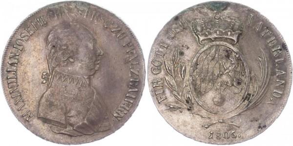 Bayern 1/2 Taler 1805 - Maximilian Joseph