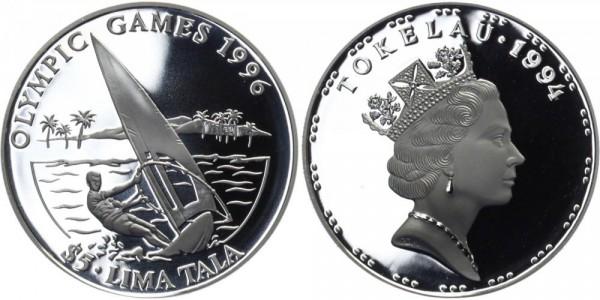 TOKELAU 5 Lima Tala 1994 - Olympische Spiele