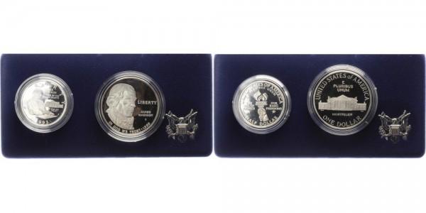 USA 1 + 1/2 Dollar 1993 - Bill of rights