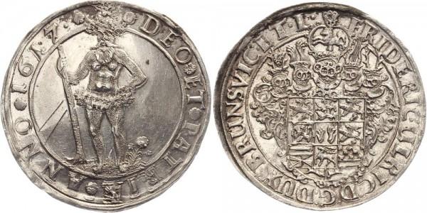 Braunschweig Reichsthaler 1617 - Friedrich Ulrich