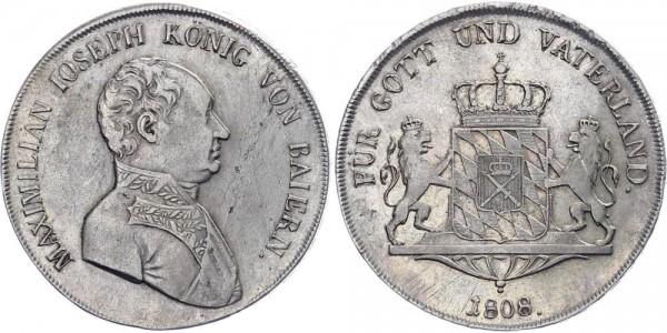 Bayern Konventionstaler 1808 - Maximilian Joseph