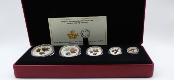 Kanada 15 Dollars 2016 - Fractional Set Maple Leaf