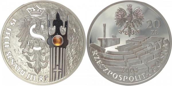 Polen 20 Zloty 2004 - Senatsjubiläum