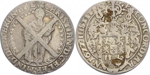 Braunschweig-Lüneburg-Celle Taler 1622 Andreasberg Christian von Minden 1611-1633