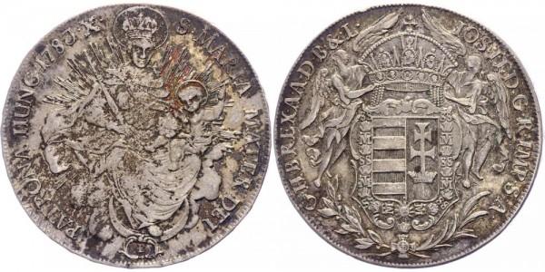 Österreich-Ungarn Madonnentaler 1783B Kremnitz Joseph II. ( 1780 - 1790 )