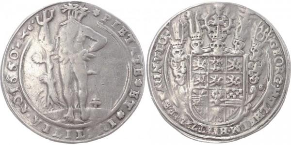 Braunschweig-Lüneburg-Celle Taler 1650 - Wilder Mann