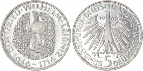 BRD 5 Mark 1966 - Leibniz