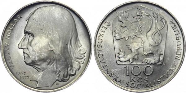 CSSR 100 Kč 1977 - Vaclav Hollar