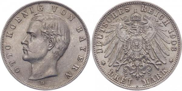 Bayern 3 Mark 1908 D Otto
