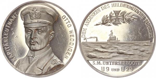 Deutschland Medaille o. J. (1915) - Otto Weddigen
