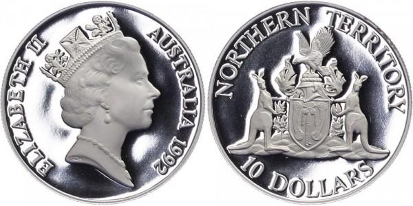 Australien 10 Dollar 1992 - Northern-Territory